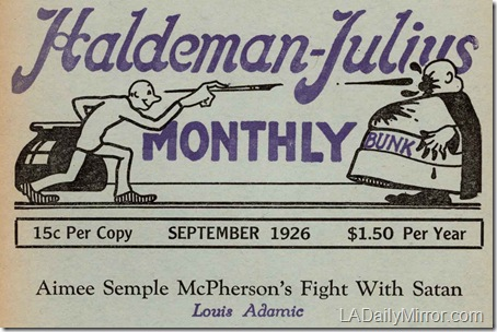 Haldeman-Julius Monthly, September 1926