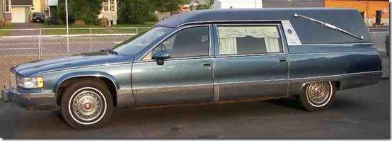1993 Cadillac Hearse