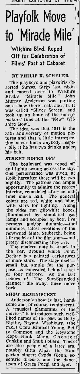 Sept. 11, 1941, Silver Screen Revue