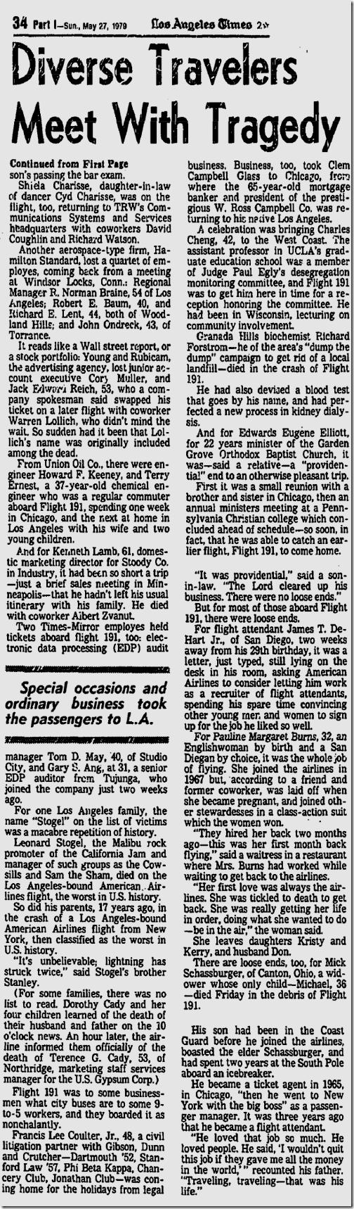 May 27, 1979, Patt Morrison
