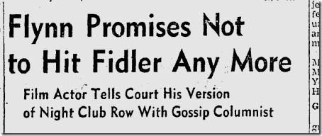 Oct. 1, 1941, Errol Flynn