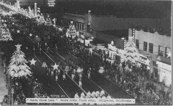 Hollywood Boulevard, Santa Claus Lane