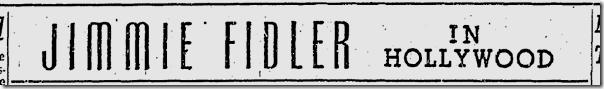 Nov. 22, 1941, Jimmie Fidler