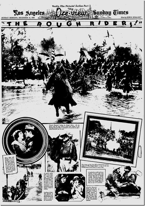 Dec. 12, 1926, The Rough Riders