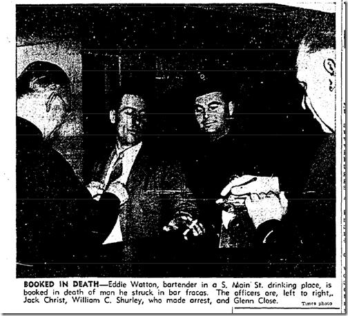 No. 30, 1941, Homicide Suspect
