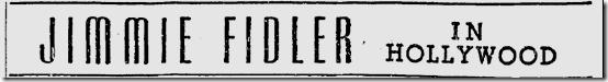 Nov. 5, 1941, Jimmie Fidler