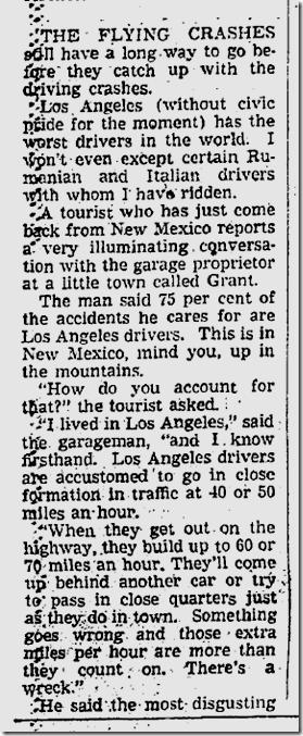 Nov. 7, 1941, Drivers