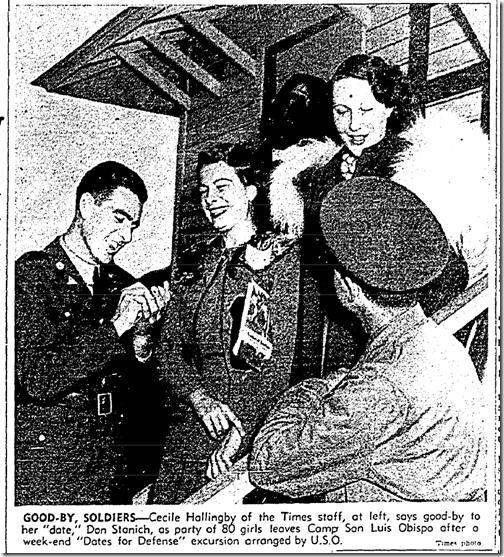 Nov. 17, 1941, Dates for Defense