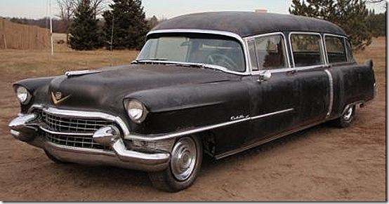 1955 Cadillac Hearse