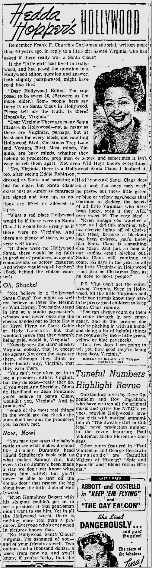 Dec. 15, 1941, Hedda Hopper