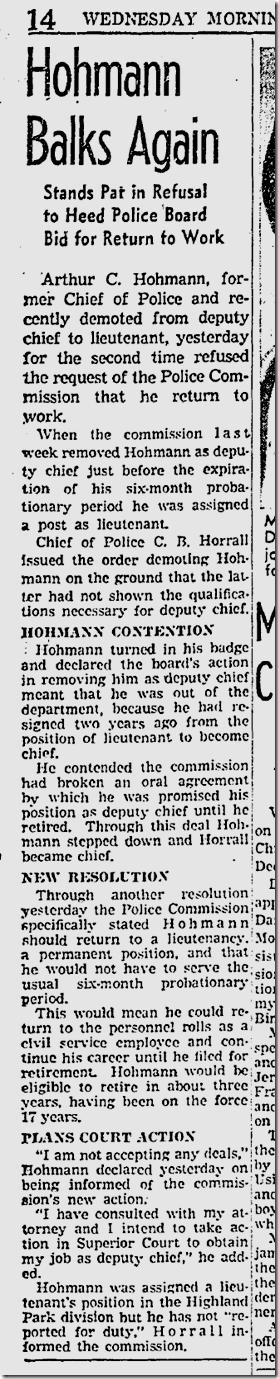 Dec. 17, 1941, Arthur Hohmann