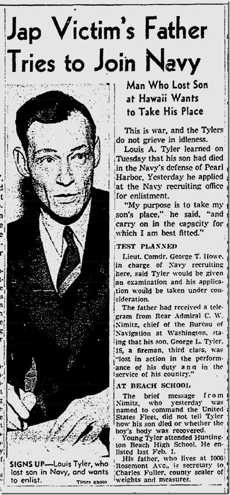 Dec. 18, 1941, Hero Father