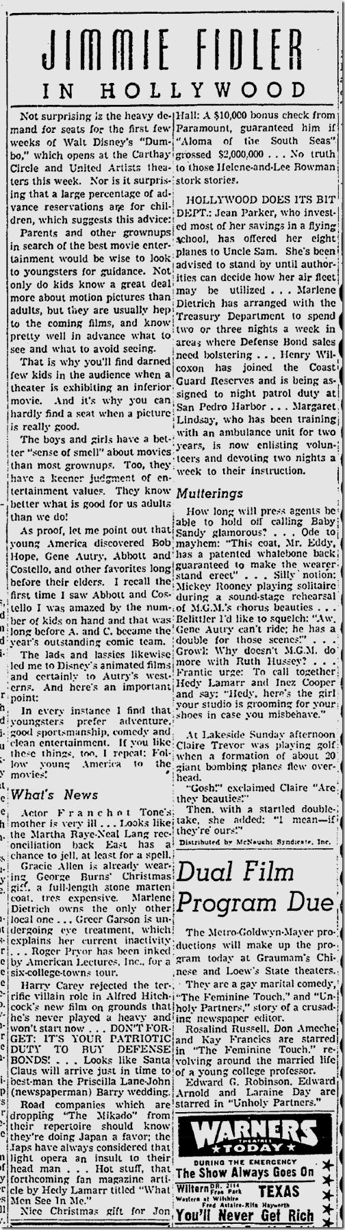 Dec. 18, 1941, Jimmie Fidler