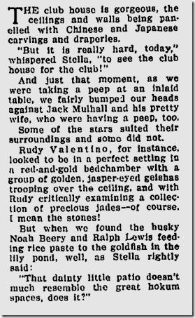 Nov. 1, 1925, Valentino