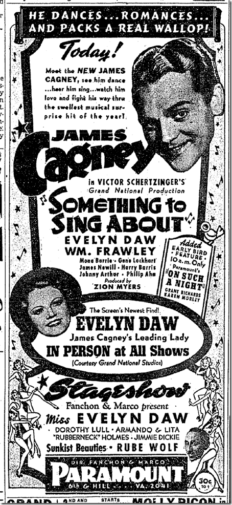 Sept. 23, 1937, Something to Sing About