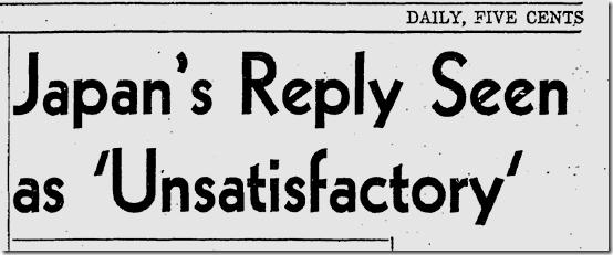 Dec. 6, 1941, Japan