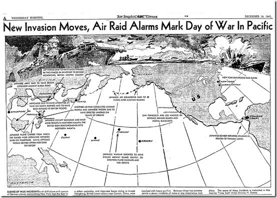 Dec. 10, 1941, War Map