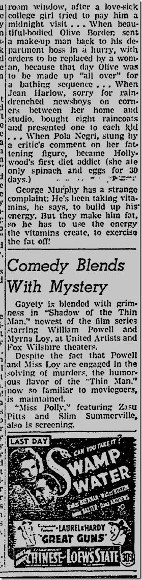 Dec. 3, 1931, Jimmie Fidler