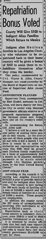 Dec. 3, 1941, Immigration