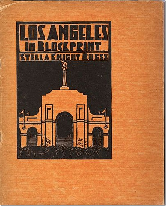 Ruess Los Angeles in Blockprint