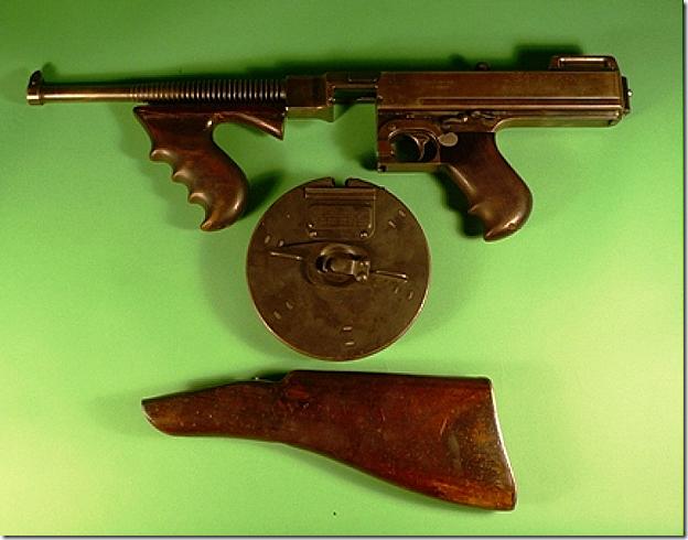 Bonnie and Clyde Machine Gun