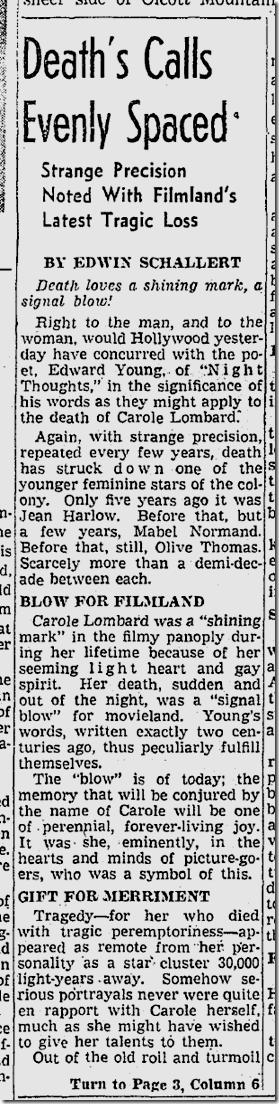 Jan. 18, 1942, Carole Lombar