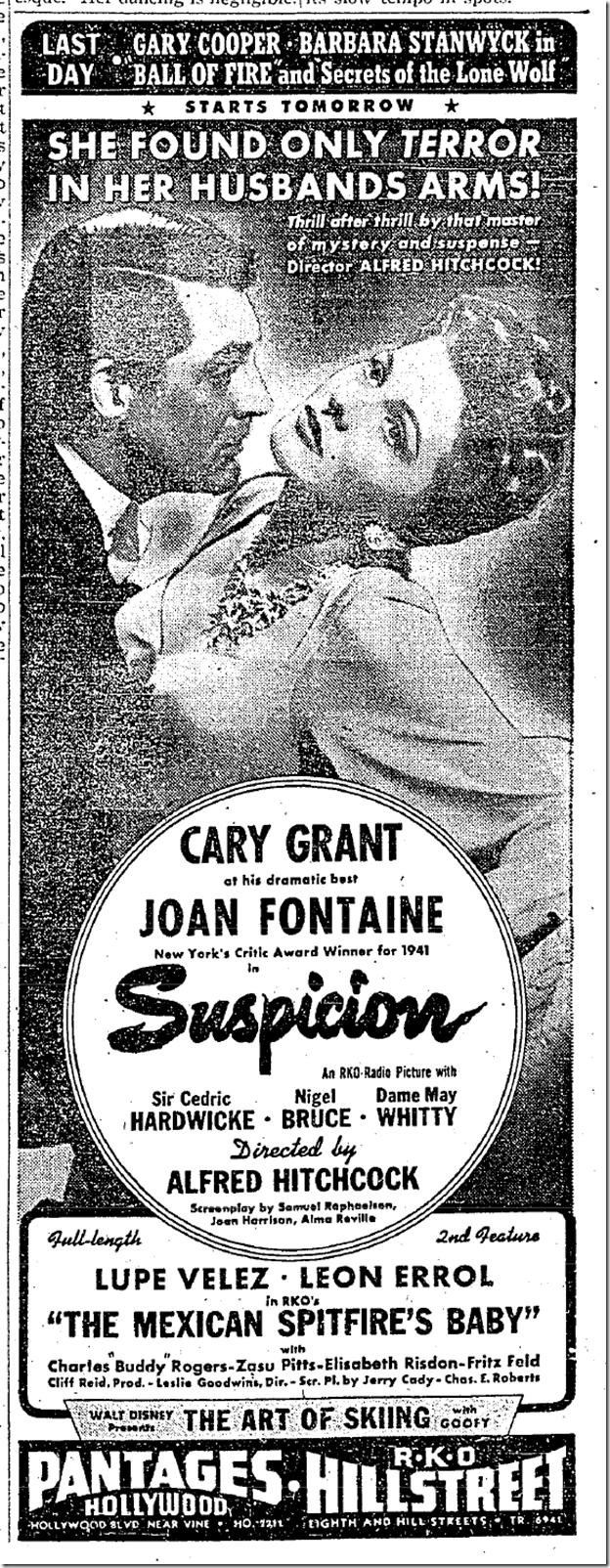 Jan. 19, 1942, Suspicion