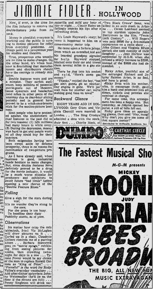 Jan. 21, 1942, Jimmie Fidler