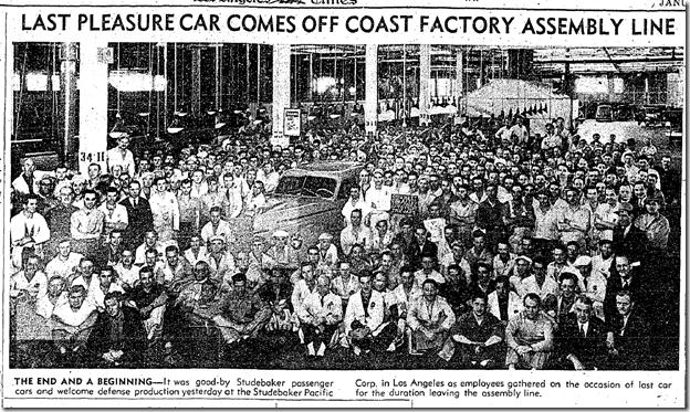 Jan. 22, 1942, Studebaker