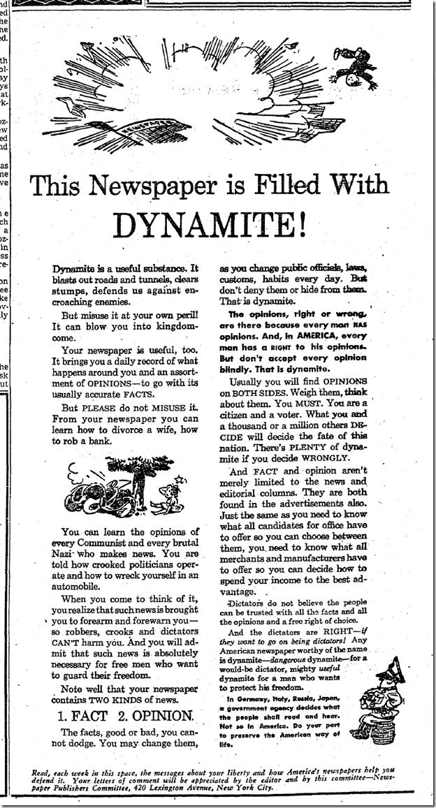 Jan. 22, 1942, The Newspaper