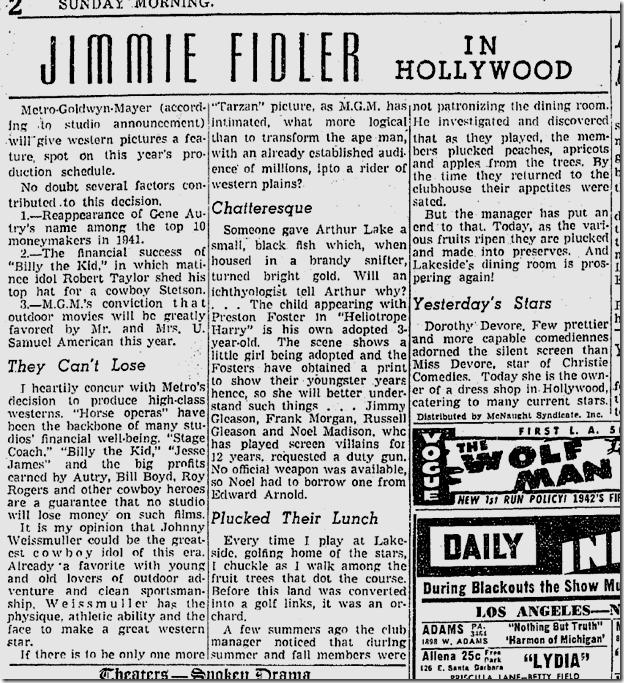 Jan. 25, 1942, Jimmie Fidler