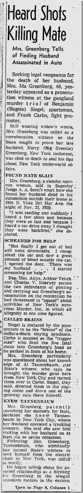 Jan. 27, 1942, Bugsy Siegel Trial
