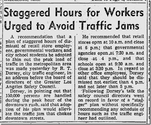 Jan. 29, 1942, Traffic