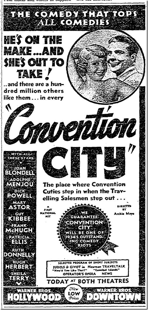 Jan. 11, 1934, Convention City
