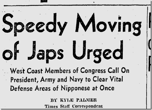 Jan. 31, 1942, Japanese Evacuation