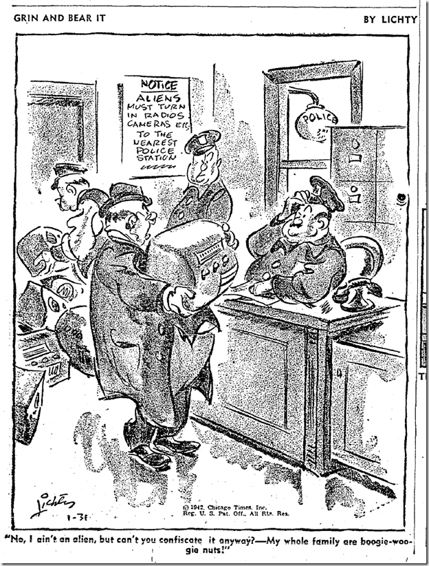 Jan. 31, 1942, Comics