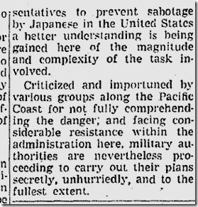Jan. 31, 1942, Japanese Evacuation