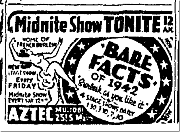 Jan. 3, 1942, Bare Facts o