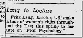 Jan. 5, 1942, Fritz Lang