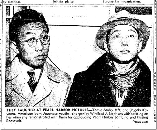 Jan. 3, 1942, Hissing Roosevelt