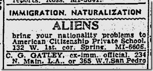 Jan. 10, 1942, Immigration