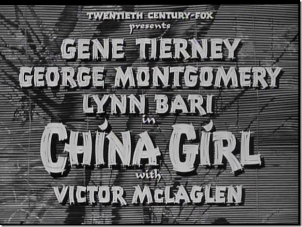 """China Girl"""