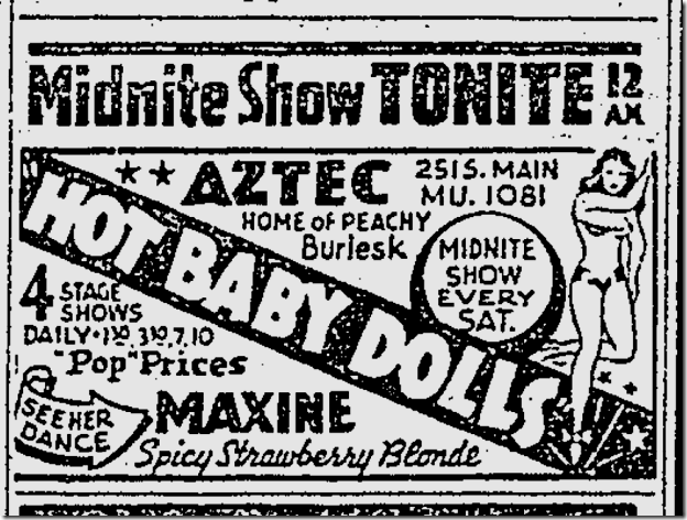 Jan. 17, 1942, Hot Baby Dolls