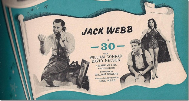 """Jack Webb """"-30-"""""""