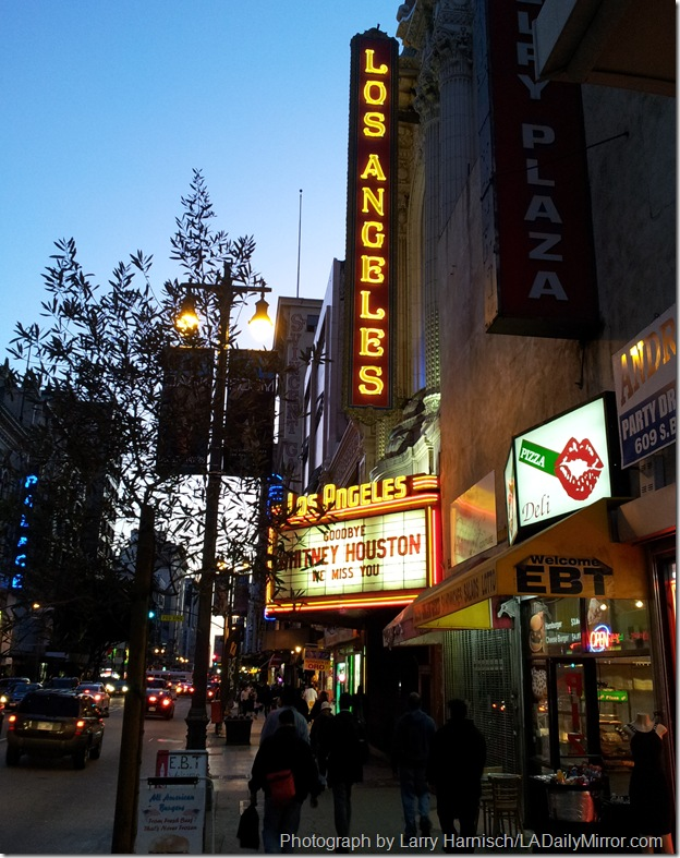 Feb. 17, 2012, Los Angeles Theatre