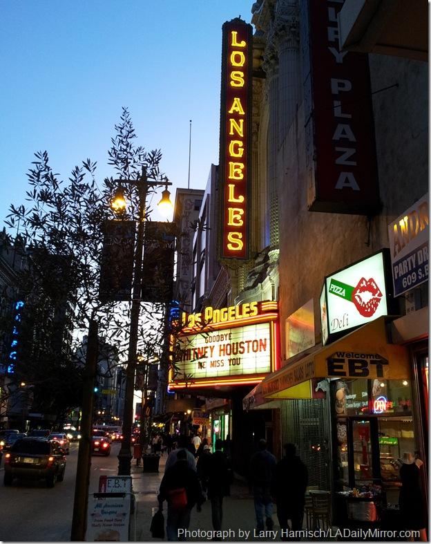 Feb. 17, 2012, Los Angeles Theatre