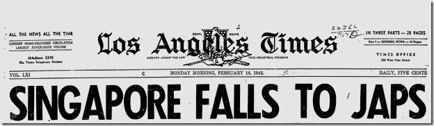 Feb. 16, 1942, Singapore Falls