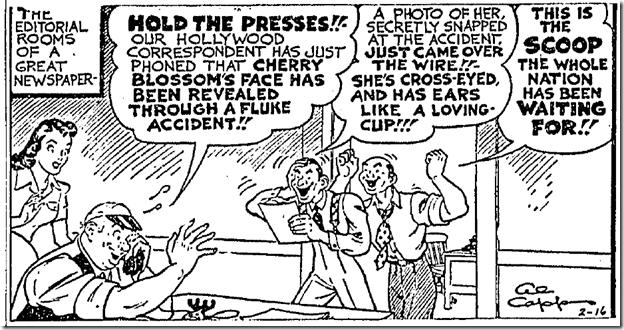 Feb. 16, 1942, Comics