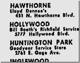 June 4, 1942, Bill Booth's Richfield