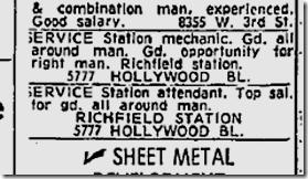 Nov. 6, 1959, Richfield Service